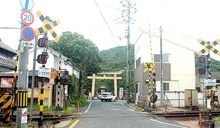 日本岡山電車桃太郎線備前一宮站