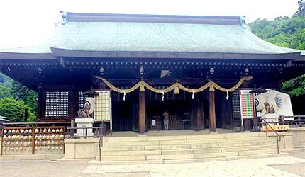 日本岡山吉備津彥神社拜殿