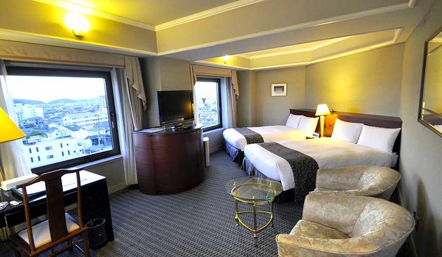 「倉敷 ROYAL ART HOTEL」雙人床房型