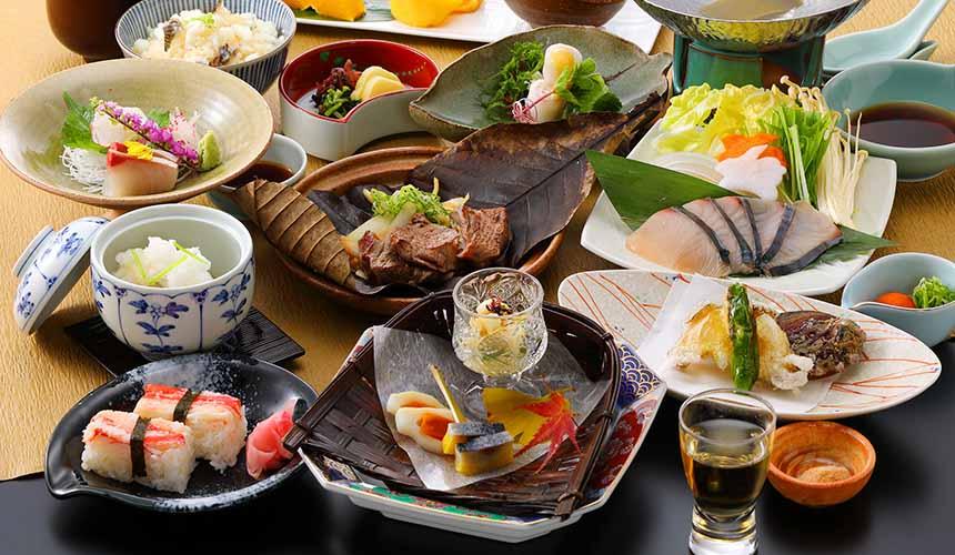 岡山飯店「倉敷 ROYAL ART HOTEL」的餐廳倉敷的料理