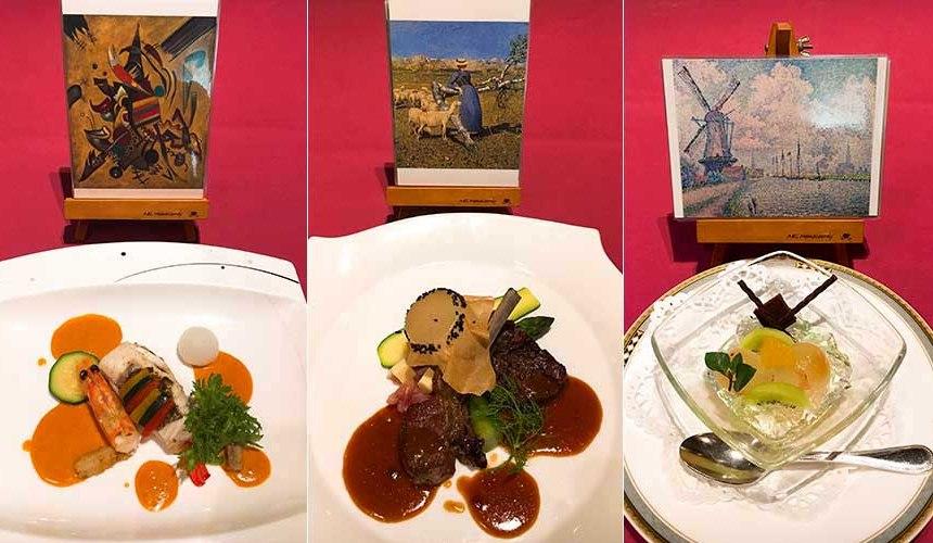 岡山飯店「倉敷 ROYAL ART HOTEL」的八間蔵餐廳料理