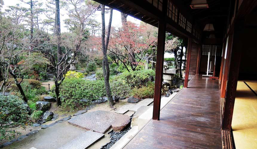岡山倉敷必去景點「大原美術館」的新溪園
