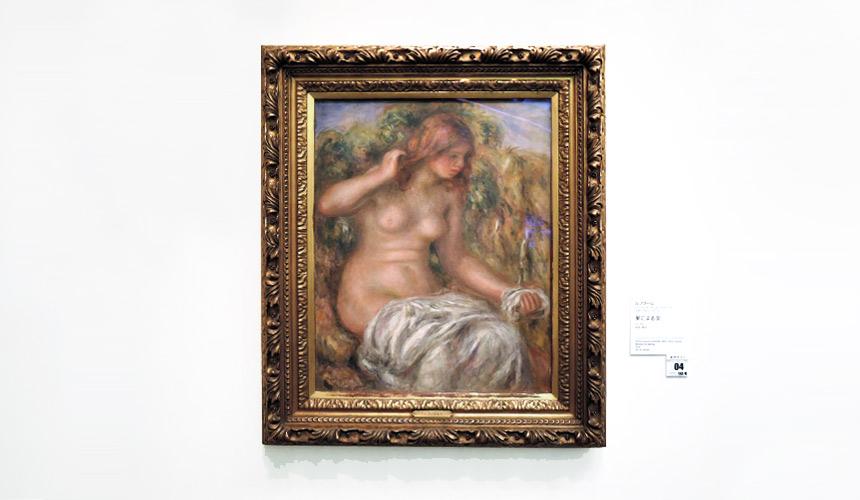 岡山倉敷必去景點「大原美術館」的名畫《泉邊的少女》