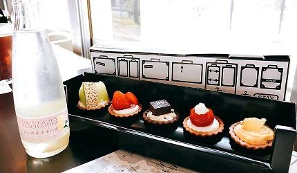 日本山陽山陰自由行:JR西日本宇野、尾道、琴平的藝術觀光列車「La Malle de Bois」的瀨戶旅行甜點盒
