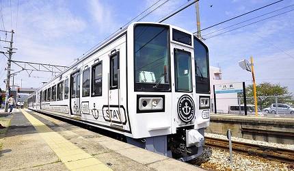 岡山出發乘坐JR觀光列車「La Malle de Bois」車頭