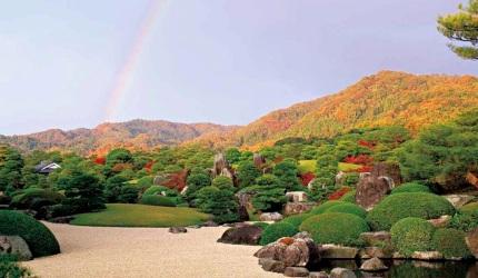 日本山陽山陰楓葉推薦島根足立美術館