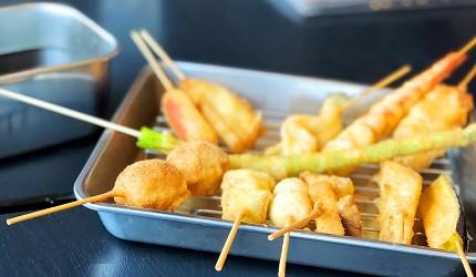 「魚と串揚げ 串かっちゃん」串炸組合