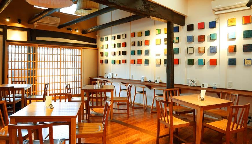 岡山必買伴手禮吉備糰子百年老店「廣榮堂」的附設咖啡廳