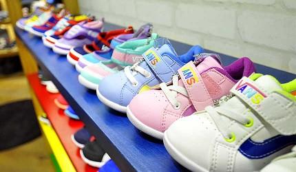 岡山必逛大型購物商場「Ario倉敷」的「ABC MART」小孩子鞋款