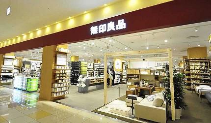 岡山必逛大型購物商場「Ario倉敷」的MUJI無印良品