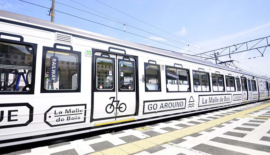 岡山出發!乘坐JR觀光列車「La Malle de Bois」前往宇野、尾道來趟單車跳島行程!