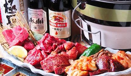 岡山車站步行可到!「炭火庵 犇き堂」高CP值燒肉店大啖和牛燒烤的犇き堂套餐