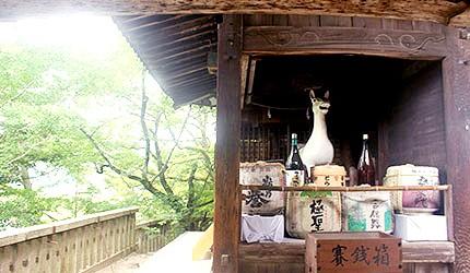 日本冈山吉备津神社纳奉箱