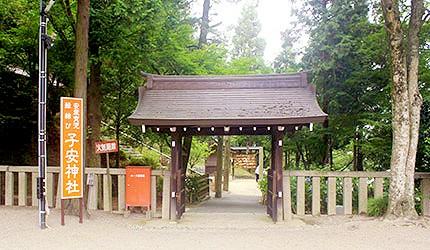 日本冈山子安神社求子安产