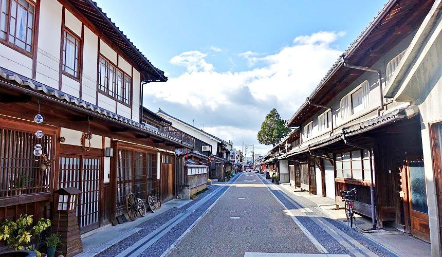 有小京都之稱的日本岡山縣「津山市」