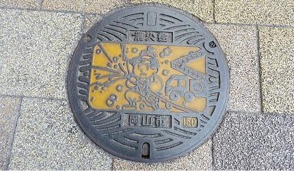 日本JR岡山站桃太郎消防栓