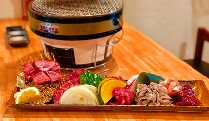 岡山車站步行可到!「炭火庵 犇き堂」高CP值燒肉店大啖和牛燒烤的1公斤超過癮豪華組合(犇き1kg盛り)