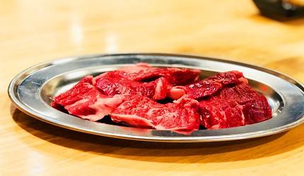 岡山車站步行可到!「炭火庵 犇き堂」高CP值燒肉店大啖和牛燒烤的極上橫隔膜(極上ハラミ)