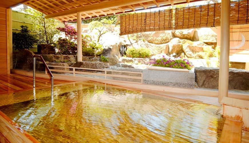 冈山旅游饭店亲子住宿推荐「濑户内钻石酒店」的「玉之温泉」