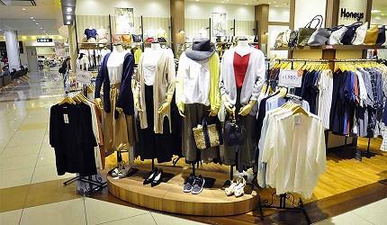 岡山必逛大型購物商場「Ario倉敷」的日系女裝「Honeys」