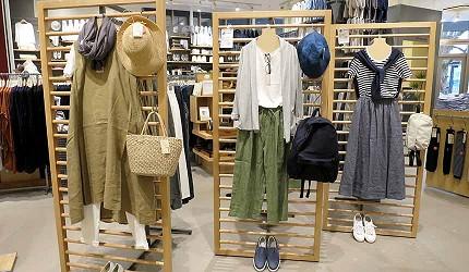 岡山必逛大型購物商場「Ario倉敷」的MUJI無印良品服飾