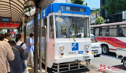 岡山表町購物必去選物店「Omotecho Style Store」的交通方式步驟二
