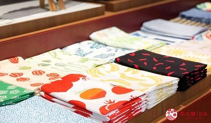 岡山表町購物必去「Omotecho Style Store」選物店有老牌文具店伊東屋的擦手巾