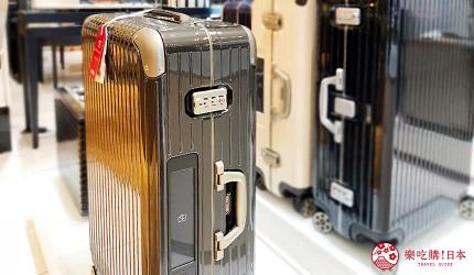 岡山表町購物必去「Omotecho Style Store」選物店的「Rimowa」行李箱