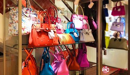 岡山表町購物必去「Omotecho Style Store」選物店販售義大利品牌「SAVE MY BAG」的包包