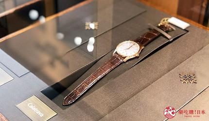 岡山表町購物必去手錶店「Time Art」的百達翡麗Patek Philippe最經典的款式「Calatrava」
