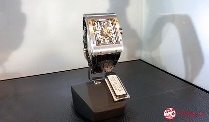 岡山表町購物必去手錶店「Time Art」的「RICHARD MILLE」頂級腕錶