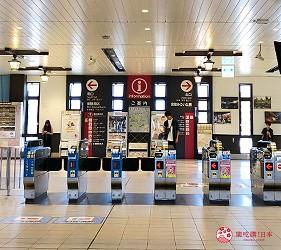 倉敷車站北口改札
