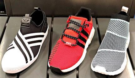 岡山購物必逛「三井 OUTLET PARK 倉敷」內的「adidas」的男性鞋款