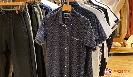 岡山購物必逛「三井OUTLET PARK倉敷」內的「BEAMS」的年輕男士服飾