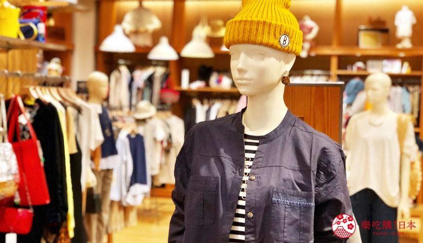 冈山购物必逛「三井 OUTLET PARK 仓敷」内的「BEAMS OUTLET」服饰
