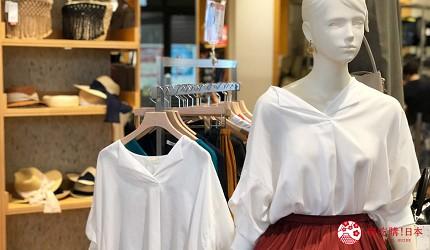 岡山購物必逛「三井 OUTLET PARK 倉敷」內的「BEAMS」女性服飾