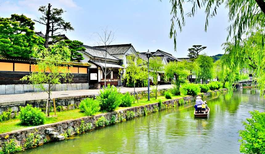 岡山購物必逛「三井OUTLET PARK倉敷」附近的岡山倉敷美觀地區