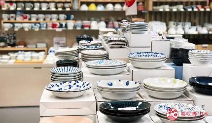 岡山購物必逛「三井OUTLET PARK倉敷」內的京都和風瓷器店「たち吉」的和風餐具