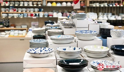 冈山购物必逛「三井 OUTLET PARK 仓敷」内的京都和风瓷器店「たち吉」的和风餐具