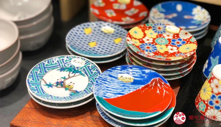 岡山購物必逛「三井 OUTLET PARK 倉敷」內的京都和風瓷器店「たち吉」