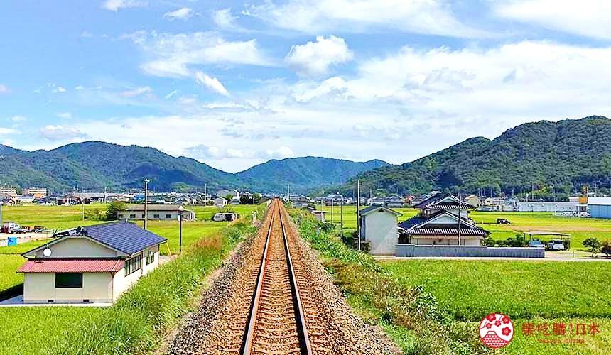 岡山倉敷出發推薦小旅行「井原線」鐵道附近美照