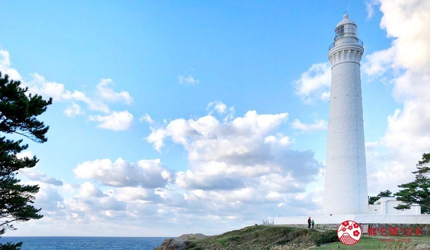 日本山陰地區島根線鳥取縣自由行推薦景點的「出雲日御碕燈塔」