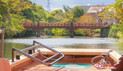 日本山陰地區島根線鳥取縣自由行推薦景點堀川護城河遊覽船風光
