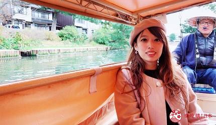 日本山陰地區島根線鳥取縣自由行推薦景點堀川護城河遊覽船