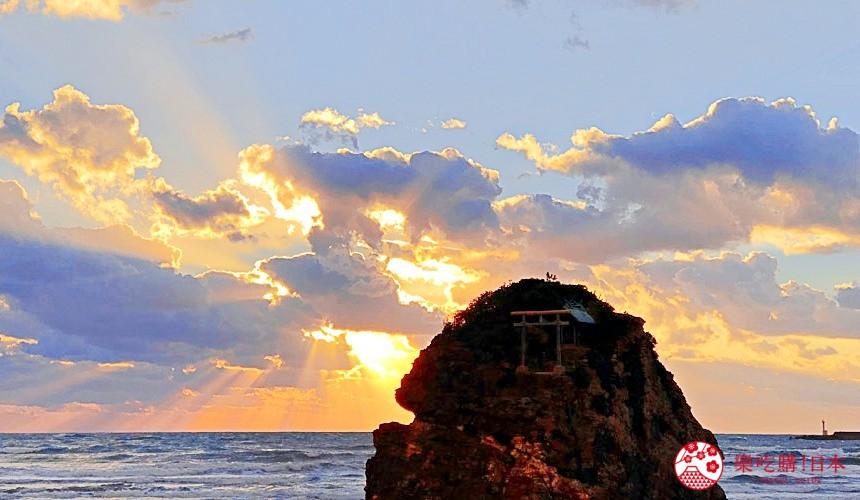 日本山陰地區島根線鳥取縣自由行推薦景點的「稻佐之濱」