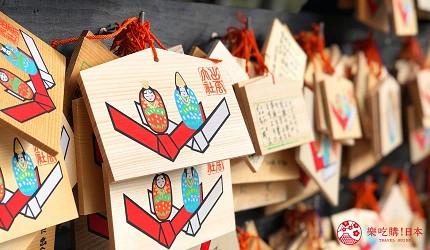 日本山陰地區島根線鳥取縣自由行推薦景點「出雲大社」的繪馬