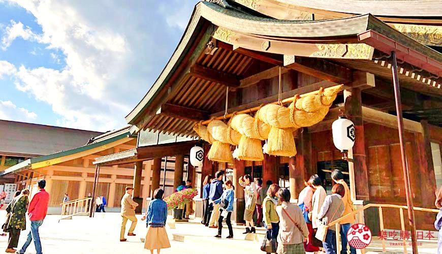 日本山陰地區島根線鳥取縣自由行推薦景點「出雲大社」