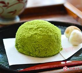 日本山阴地区岛根线鸟取县自由行推荐景点松江历史馆「吃茶きはる」的甜点本蕨饼