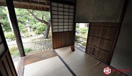 日本島根「出雲市」知名景點「出雲大社」附近的「出雲文化傳承館」的「獨樂庵」
