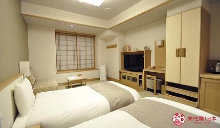 日本島根「出雲市」住宿推薦「月夜のうさぎ」溫泉會館房型